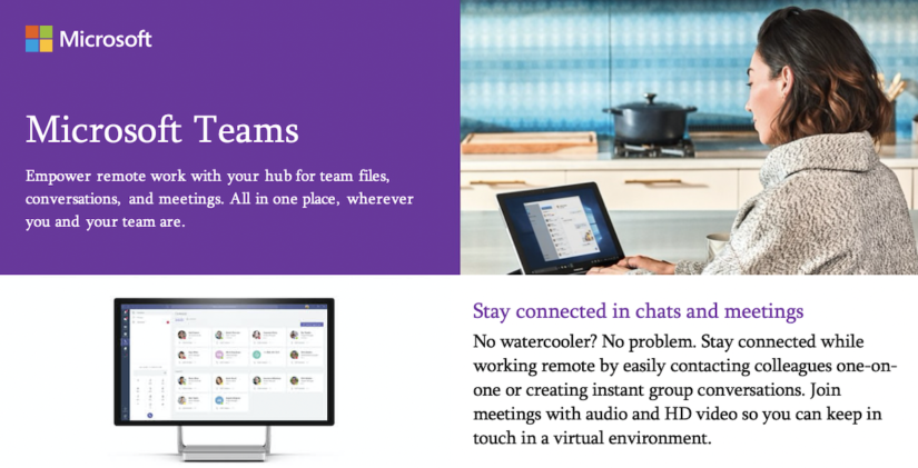 Introducing Microsoft Teams: empowering remote work