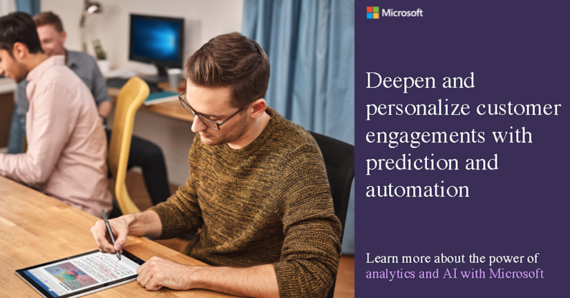 Deepen and engage customers with AI